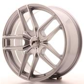 "Jante JAPAN RACING JR25 20"" x 8,5"" Multi Perçage ET 20-40 Silver Machined Face"