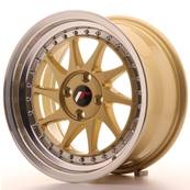 "Jante JAPAN RACING JR26 16"" x 8"" 4x100 ET 30 Gold"