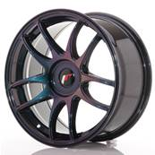 "Jante JAPAN RACING JR29 17"" x 8"" Multi Perçage ET 20-35 Purple"