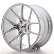 "Jante JAPAN RACING JR30 18"" x 9,5"" Multi Perçage ET 20-40 Machined Face Silver"