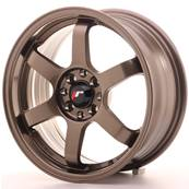 "Jante JAPAN RACING JR3 16"" x 7"" 4x108 4x100 ET 25 Bronze"