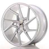 "Jante JAPAN RACING JR33 19"" x 9,5"" Multi Perçage ET 20-45 Silver Machined Face"