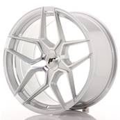 "Jante JAPAN RACING JR34 19"" x 9,5"" Multi Perçage ET 20-40 Machined Face Silver"