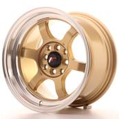 "Jante JAPAN RACING JR12 15"" x 8,5"" 4x114,3 4x100 ET 13 Gold"