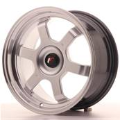 "Jante JAPAN RACING JR12 16"" x 8"" Multi Perçage ET 20-22 Hiper Silver"