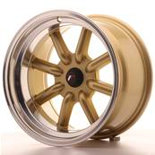 "Jante JAPAN RACING JR19 16"" x 9"" Multi Perçage ET -220 Gold"