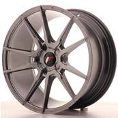 "Jante JAPAN RACING JR21 18"" x 8,5"" Multi Perçage ET 30-40 Hiper Black"