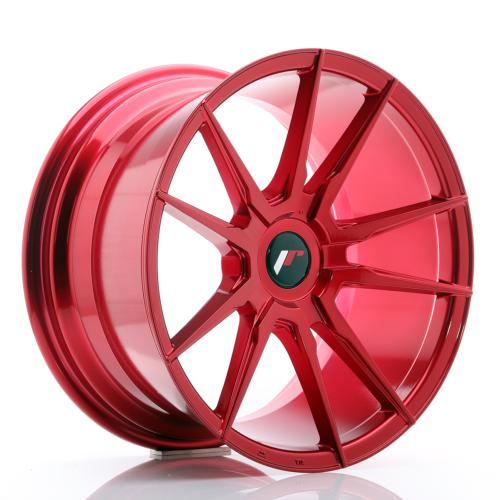 Jante JR Wheels JR21 18x9,5 ET20-40 BLANK Platinum Red