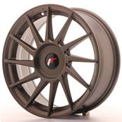 "Jante JAPAN RACING JR22 17"" x 7"" Multi Perçage ET 35-40 Bronze"