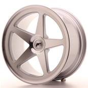 "Jante JAPAN RACING JR24 19"" x 9,5"" Multi Perçage ET 20-40 Silver Machined Face"