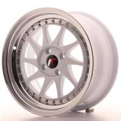 "Jante JAPAN RACING JR26 16"" x 8"" 4x100 ET 30 White"