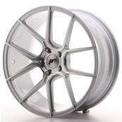"Jante JAPAN RACING JR30 19"" x 8,5"" 5x120 ET 35 Silver Machined Face"