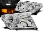 Paire de feux phares Toyota Land Cruiser FJ200 07-12 chrome led