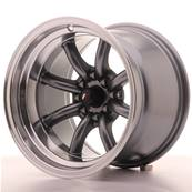 "Jante JAPAN RACING JR19 15"" x 10,5"" 4x100 4x114,3 ET -32 Gun metal"