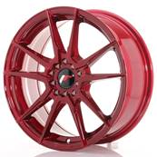 "Jante JAPAN RACING JR21 17"" x 7"" 5x114,3 5x100 ET 40 Red"