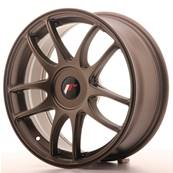 "Jante JAPAN RACING JR29 17"" x 7"" Multi Perçage ET 20-40 Bronze"