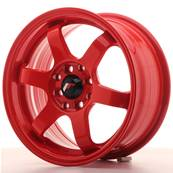 "Jante JAPAN RACING JR3 15"" x 7"" 4x100 4x114,3 ET 40 Red"