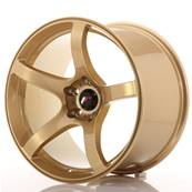 "Jante JAPAN RACING JR32 18"" x 10,5"" 5x114,3 ET 22 Gold"