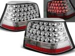 Paire de feux arriere VW Golf 4 97-03 chrome led