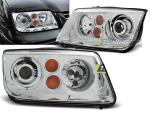 Paire de feux phares VW Bora 98-05 design chrome