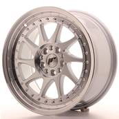 "Jante JAPAN RACING JR26 17"" x 8"" 4x100 4x114,3 ET 35 Machined Face Silver"