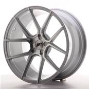 "Jante JAPAN RACING JR30 19"" x 9,5"" Multi Perçage ET 20-40 Silver Machined Face"