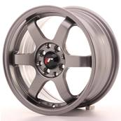 "Jante JAPAN RACING JR3 15"" x 7"" 4x108 4x100 ET 25 Gun metal"
