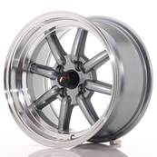 "Jante JAPAN RACING JR19 15"" x 8"" 4x100 ET 0 Gun metal"