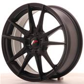"Jante JAPAN RACING JR21 17"" x 7"" 4x108 4x100 ET 25 Black"