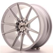 "Jante JAPAN RACING JR21 18"" x 8,5"" 5x120 5x100 ET 35 Machined Face Silver"