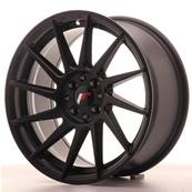 "Jante JAPAN RACING JR22 17"" x 8"" 4x100 4x108 ET 25 Black"