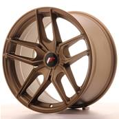 "Jante JAPAN RACING JR25 18"" x 9,5"" Multi Perçage ET 20-40 Bronze"