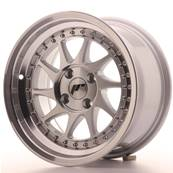 "Jante JAPAN RACING JR26 15"" x 8"" 4x100 ET 5 Machined Face Silver"