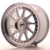 "Jante JAPAN RACING JR26 17"" x 9"" Multi Perçage ET 20-352 Machined Face Silver"