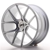 "Jante JAPAN RACING JR30 18"" x 9,5"" 5x120 ET 35 Silver Machined Face"