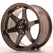 "Jante JAPAN RACING JR3 16"" x 8"" 4x108 4x100 ET 25 Bronze"