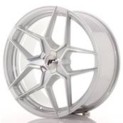 "Jante JAPAN RACING JR34 19"" x 8,5"" Multi Perçage ET 35-40 Machined Face Silver"