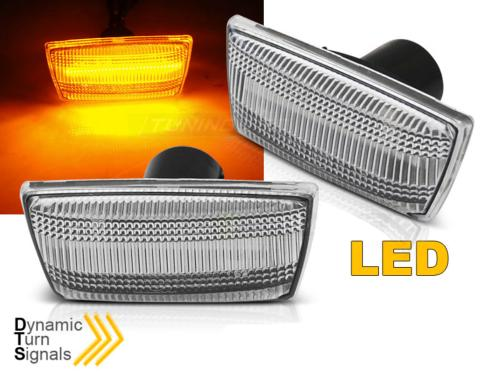 Paire Clignotant Repetiteur Opel Zafira B 2005 a 2014 Led Blanc Dynamique