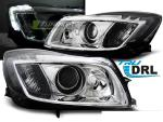 Paire de feux phares Opel Insignia 08-12 Daylight DRL led chrome
