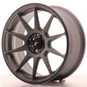 "Jante JAPAN RACING JR11 17"" x 7,25"" 5x114,3 5x100 ET 35 Gun metal"