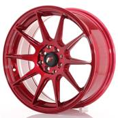 "Jante JAPAN RACING JR11 17"" x 7,25"" 5x114,3 5x100 ET 35 Red"