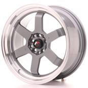 "Jante JAPAN RACING JR12 17"" x 8"" 5x100 5x114,3 ET 33 Gun metal"