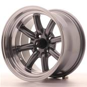 "Jante JAPAN RACING JR19 15"" x 9"" 4x100 ET -13 Gun metal"