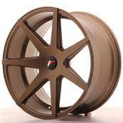 "Jante JAPAN RACING JR20 20"" x 10"" Multi Perçage ET 20-40 Bronze"
