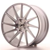 "Jante JAPAN RACING JR22 20"" x 10"" Multi Perçage ET 20-40 Machined Face Silver"