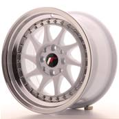 "Jante JAPAN RACING JR26 15"" x 8"" 4x108 4x100 ET 25 White"