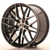 "Jante JAPAN RACING JR28 19"" x 9,5"" Multi Perçage ET 35-40 Black Machined Face"