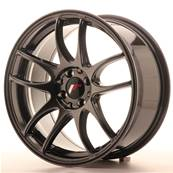 "Jante JAPAN RACING JR29 17"" x 8"" 4x100 4x114,3 ET 35 Hiper Black"