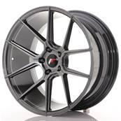 "Jante JAPAN RACING JR30 20"" x 10"" 5x120 ET 30 Hiper Black"