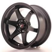 "Jante JAPAN RACING JR3 15"" x 8"" 4x108 4x100 ET 25 Black"